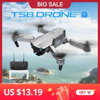 Here Topacc T58 1080 P FPV WiFi Kamera ile Profesyonel Katlanabilir Mini Drone RC Quadcopter Helikopter Oyuncaklar
