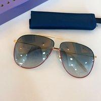 Yaz Güneş Gözlüğü Erkekler Ve Kadınlar için Stil Anti-Ultraviyole 0440 Retro Plaka Tam Çerçeve Düzensiz Lensler Moda Gözlükler Rastgele Kutu 0440s