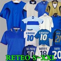 1998 1990 1996 Retro Baggio Maldini Soccer Jersey Football 1982 Rossi Schillaci Totti Del Piero 2006 Pirlo Inzaghi Buffon Itália Canavaro