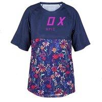 VOS T-shirt Camisetas Moda Homens Poloshirt Marcas Mulheres Downhill Jersey Dh Motocicleta Jersey Sportwear Bike Camisa J0624