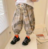 Fashion Kids Camouflage Pantaloni stampati Summer Boys 3/4 Casual Cargo Pant Bambini Elastico Vita elastico Stivaletto Stivaletto A6528