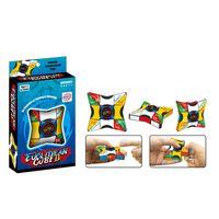 Magic Cube Doigt Spinner Fidget Cubes Spinning Top Edc Anti-stress Rotation Spinners Decompression Nouveautés Toys pour enfants Adultes
