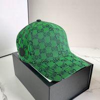Mode Baseballkappe Kugelkappen für Mann Frau Verstellbare Straße Hüte Eimer Hut Beanies Dome 5 Farbe Top Qualität 2021