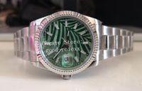 2021新しいスタイル時計レディースオリーブグリーンパームリーフダイヤルBPファクトリーウォッチ36mmユニセックス自動2813 BPFメンズ126234 Jubileeブレステート日126200女性の腕時計