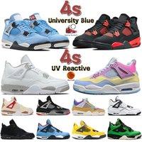Новейшие мужские баскетбольные кроссовки 4 4s 5 5s University blue white oreo what the anthracite Top 3 мужские женские кроссовки кроссовки