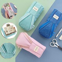 Pencil Bags Angoo Golf Style Pen Bag Case Special Color Phone Holder Fabric Storage Pouch Organizer For Pens Stationery School F737