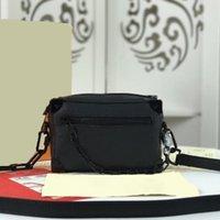 Mini Bolsa superior para Hombre Bolsas Calidad Hombres Crossbody 18x13x8 Desingers Bolsos Bolsos Bolsos de Caja de Damas para Tamaño Clásico Aseo: Cofre Otjal
