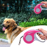 Dog Collars & Leashes 5MDog Cat Collar Pet Leash Harness Chiens Accessories Automatic Traction Rope For Puppy Walking Running Lea