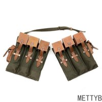 Wallets MP44 Magazine Pouch German Repro Tactical Bag Tool Purse Wallet Canvas Backpack