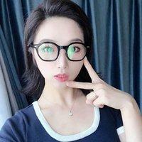 Novelty Design Octagonal Optical Frame Big Eyes Light Plastic Solid Frames With Clear Lenses Unisex Eyewear For Men Women 5 Colors Wholesale