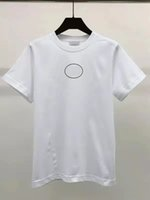 2021 Мужчины Женщины футболка 8 Стиль Черно-белый 100% Хлопок Весна / Летняя Короткая Рукав Размер M-2XL Выбор
