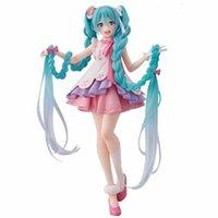 Pre Sale 18cm Hatsune Miku Anime Figure Modèles Miku Wonderland Vocaloid Anime Figurine Modèles Jouets Collection Ornements Cadeaux