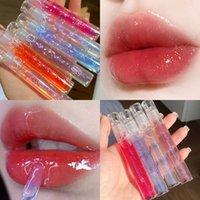 Wet Crystal Jelly Lip Gloss Shiny Clear Mirror Moisturizing Lipgloss Glitter Liquid Lipstick Lips Oil Tint Care Makeup