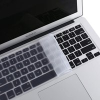 Silicone Clear UE US US Keyboard Cover per MacBook 2020 M1 Pro 13 15 16 17 Touch Bar ID Air 13 12 11 Retina