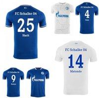 20 21 Schalke Soccer Jerserys Kucucu Serdar 2021 Raman Camicia da calcio Adit Maillot de Piede
