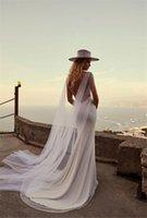 Wraps & Jackets Bridal Cape Veils Cathedral Long White Ivory Black Tulle Shoulder For Brides Wedding Dress Bolero Accessories