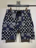 2021 Mens Designer Shorts Summer Fashion Streetwears Abbigliamento Swimwear Swimwear Stampa Board Pantaloni da spiaggia Swim Swim Breve