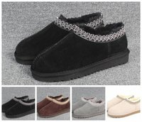 Sale-oots women man Classic winter boots black WGG Ankle snow slipper shoes explosions size 35-43 y6ZR#