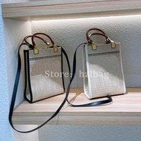 مضفر القش مصغرة حقيبة البيج محفظة مصغرة أشعة الشمس المتسوق حقائب الكتف مصممي المرأة حقائب اليد المحافظ ss twes