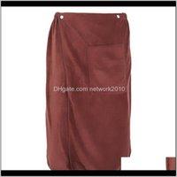 Luxury Men Spa Shower Wrap Wearable Bath Skirt Microfiber Blanket Swimming Beach Travel Sports Gym Towel Set For Man Uwpff Xfyr9