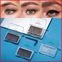 Lakerain Makeup Balmスタイリング眉SOAPキット眉毛設定ジェル防水アイブロー色合いポメード整形式透明ライト/ダークブラウンブラック12g