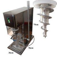 새로운 최고의 판매 식품 학년 스테인레스 스틸 실제 과일 냉동 요구르트 블렌딩 기계 아이스크림 믹서 저렴한 가격