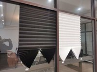 Blinds Super Wonderful Shades To Protect The Sun Window Zebra Roller Half Blackout Curtains For Bedroom Bathroom,Kitchen