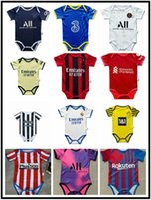 2021 2022 Paris Baby Soccer Jerseys Sao Paulo Palmeiras Flameng 6 a 18 meses Camisetas de fútbol Ball Infantil Squad Body 22 Ropa de rastreo Maillots Futbol