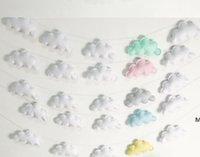 Nubes Colgando Gota Colgante Decoración Bebé Habitación Decoración Nórdica Muro Colgante Ornamento para fotografía Props Adorno Adorno DHC7004
