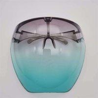 13Colors segurança face protetor óculos faceshield visor transparente anti-nevoeiro anti-splash camada rosto rosto rosto protetora máscara de rosto 716 v2