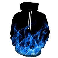 Plus Size Colorful Flame Hoodie 3D Sweatshirt Men Women Hooded Autumn And Winter Coat Mens Clothing Funny Jacket Fashion Oversized Hoodies