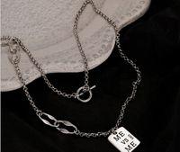 Летние женские пользовательские маленькие буквистыми буквами ожерелья кулон лед из кубического циркона ювелирные изделия веревка цепь девушки подарок