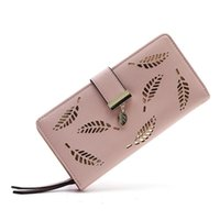 Wallets 2021 Women's Wallet Soft PU Leather Women Bag Handbag Designer Coin Card Purse