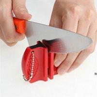 Mini Couteau rapide Soutune en acier inoxydable Tige en céramique Couteaux Aiguille Stone Steels de tungstène Diamond Outils de cuisine DHD6180