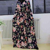 Plus Size Abaya Dubai Turchia Hijab Abito musulmano Abito Islam Abbigliamento Maxi Abiti africani Abiti Abayas per le donne Robe Musulman de Mode Femme 210602