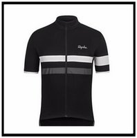 Rapha Takım Pro Giyim Kısa Kollu Jersey (BIB) Dağ Nefes Yarışı Spor Bisiklet Döngüsü Yumuşak Cilt Dostu Gömlek Açık Yaz 43004