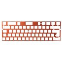 Anode-Aluminium-Parallel-Positionierplatten-Unterstützung ISO ANSI für GH60 PCB 60% P9YE-Tastaturen