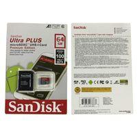 32GB 64GB 128 Go SDK Micro SD Card PC C10 TF Cartes mémoire Caméra SDXC Storage 100MB Vitesse