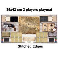 TCG Trading Card Games Arkham Horror Para 2 Jogadores Grande Playmat Table Mat Tap Stitched Edges