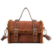 Evening Bags Luxury Women's Designer Mmodels Wholesale Fur 2021 N Winter Fashion Handheld Single Plush