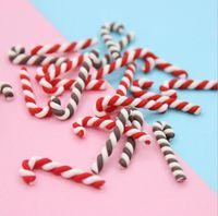 Decoratie Kawaii Hars DIY Scrapbooking Cute Clay Candy Christmas Cane Craft