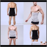 Accessories Wholesale 1Pcs Band Men Slimming Body Shaper Belly Abdomen Belt Shapewear Tops Mens Waist Trainer Compression Underwear St Xdnzp