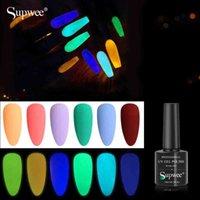 6 adet 10 ml Varnish UV Jel LED Lemp Glitter Vernis Yarı Kalıcı Nail Art Lehçe Kiti Seti