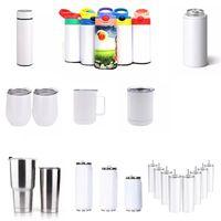Sublimation Tumbler Blacone Smart Mug Vackumm Bottiglia d'acqua Blanks 15-20-30 oz acciai inossidabili Auto Tazza di bicchieri da viaggio Tazze VT2429