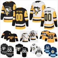 Kundenspezifische Männer Frauen Kinder 2021 Retro Pittsburgh Pinguins Patric Hornqvist Sam Lafferty Teddy Bluorger Tristan Jarry Yannick Weber Jersey