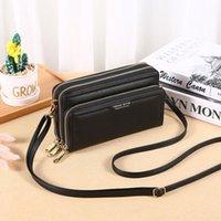 Evening Bags 2021 Ladies Shoulder Bag Long Wallet Triple Zipper Clutch Women Multifunctional Fashion Hand Messenger