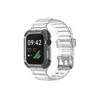 Defender شفاف التباين الرياضي ووتش حزام لتفاح نطاقات iwatch 5 4 3 2 1 1 الاسورة الاسورة سوار