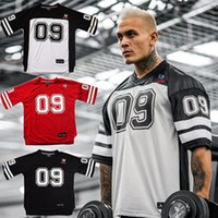 Men's T-Shirts 2021 Brand Men Tshirt Quick Dry Breathable Soccer Jersey Shirt Sports Loose Bodybuildi T-shirt Size M-XXL