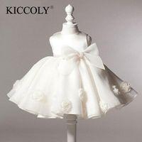 Arrival Little Girl Ball Gown Scoop Glitz Pageant Flower Girls Dresses For Children Wedding First Holy Communion Girl's