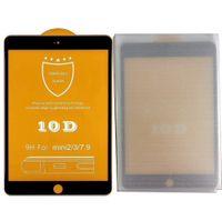 10D полная крышка закаленного стекла экрана протектор для iPad mini 1 2 3 4 mini 5 2019 mini6 6 pro черный края стеклянная пленка